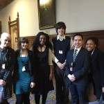 YEUK Youth Ambassadors in Parliament