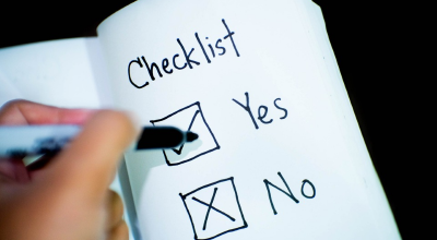 job interview checklist
