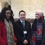 YEUK Ambassadors at Parliament