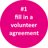 volunteer icon agreement