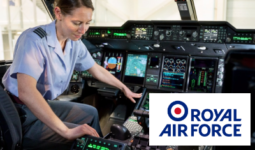 feature RAF officer careers