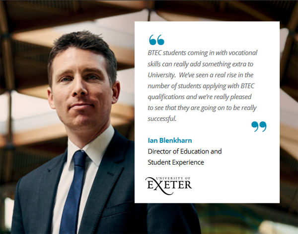 BTEC university of exeter