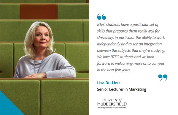 BTEC university of huddersfield
