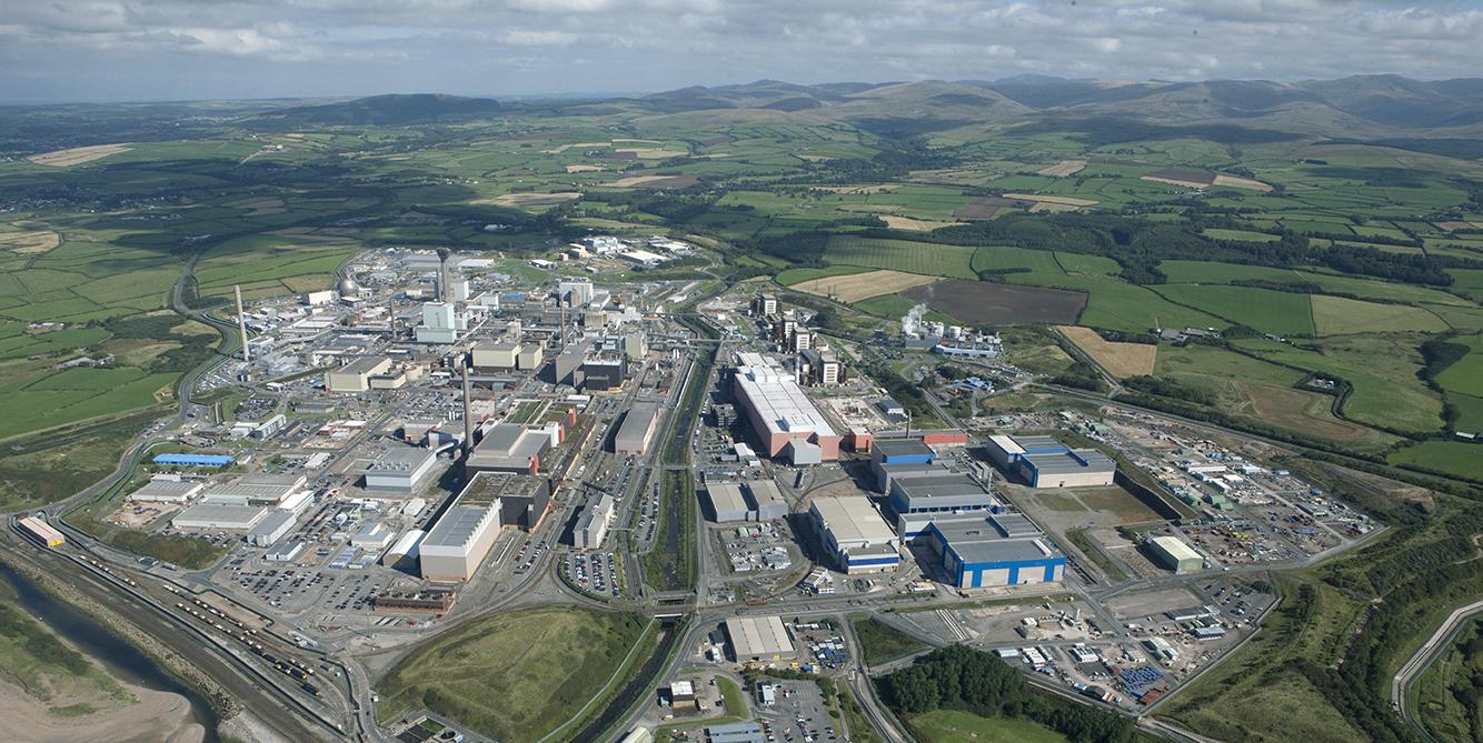 OneAIM Sellafield aerial