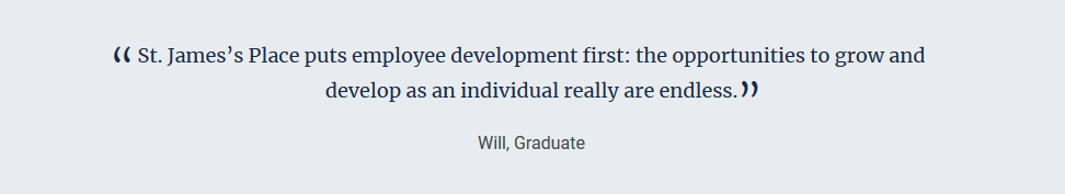 SJP Will graduate quote