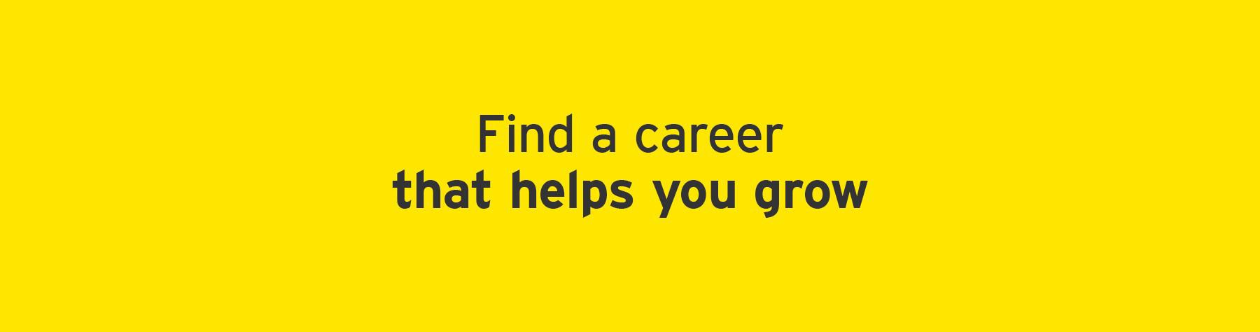 EY find a career