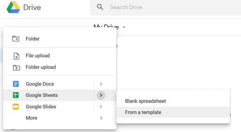google sheets 7