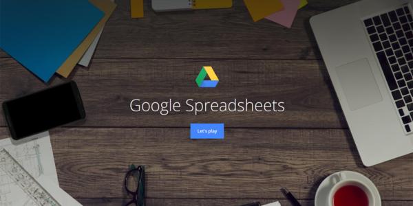 google sheets digital skills