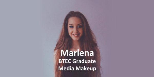 btec graduate media makeup marlena