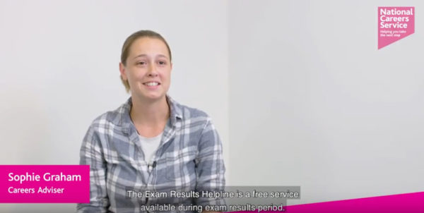 exam results helpline sophie