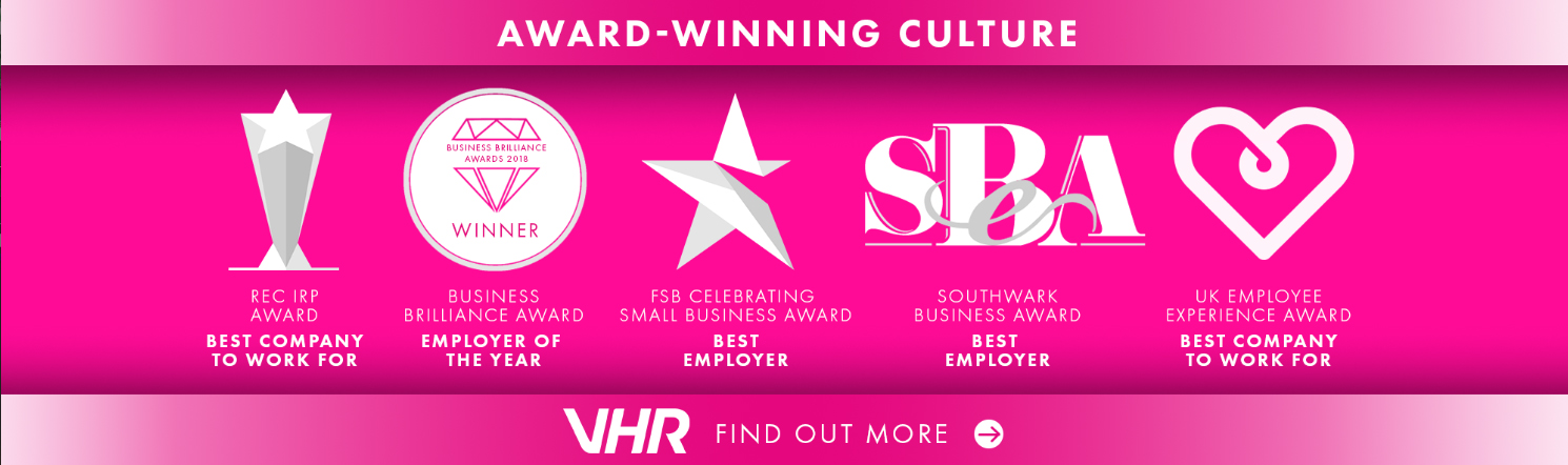 VHR awards work culture