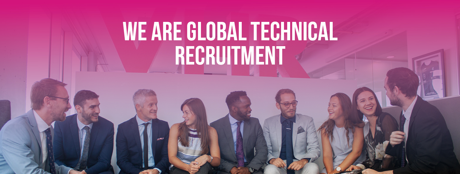 VHR Technical Recruitment banner