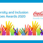 Diversity and inclusion logo for WorldSkills UK and Coca Cola European Partnership